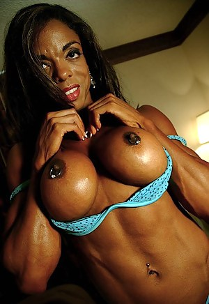 Big Tits Muscle Porn Pictures